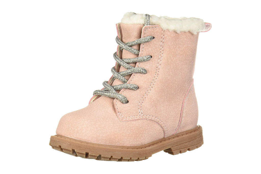 osh kosh, kids combat boots