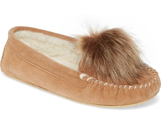 patricia-green-pom-pom-slipper