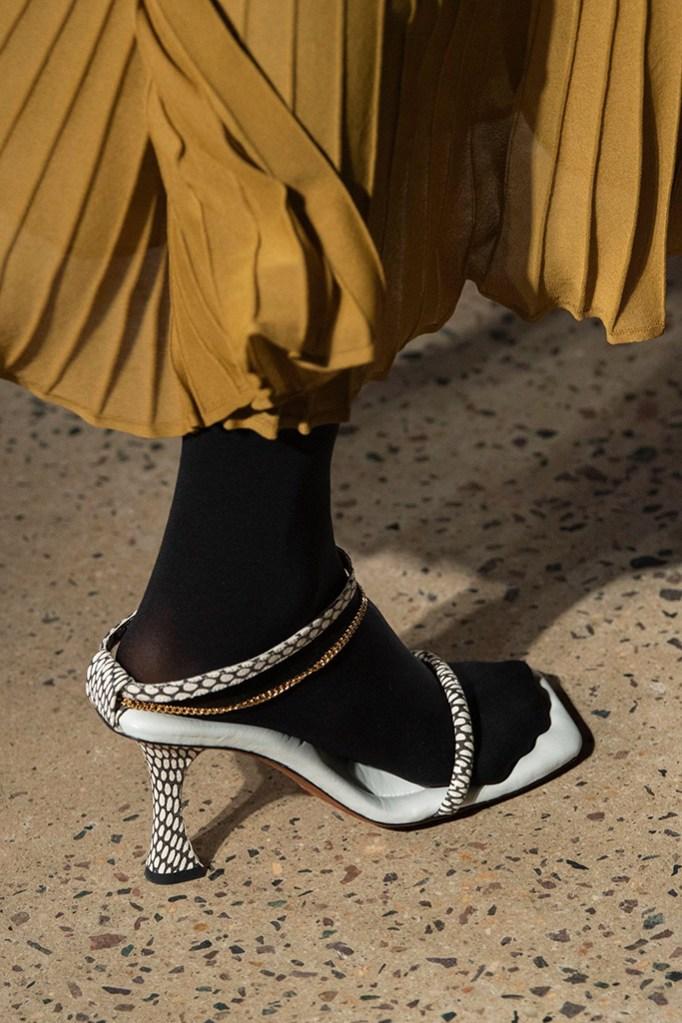 Proenza Schouler, Spring '20, socks and sandals combo