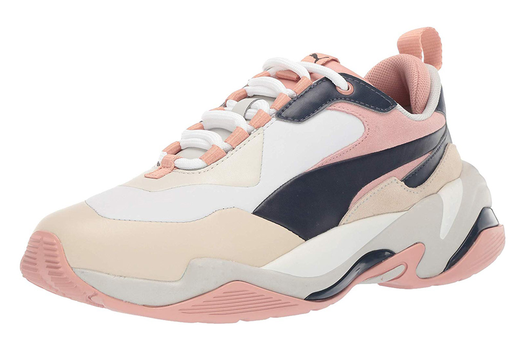 puma sneakers, pink, chunky