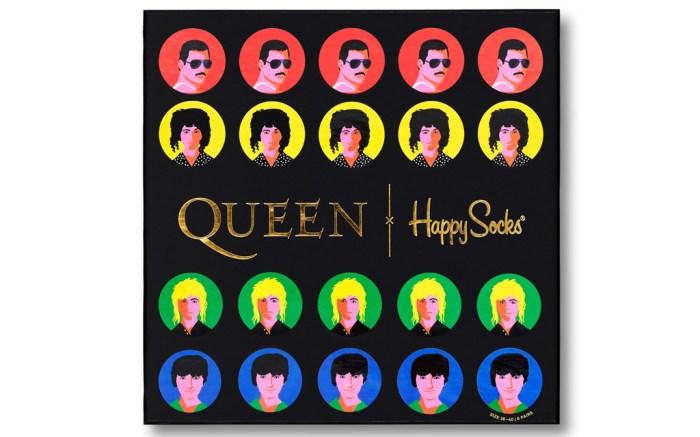Happy Socks x Queen, queen, happy socks, socks, freddie mercury