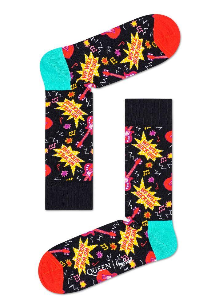 vHappy Socks x Queen, queen, happy socks, socks, freddie mercury