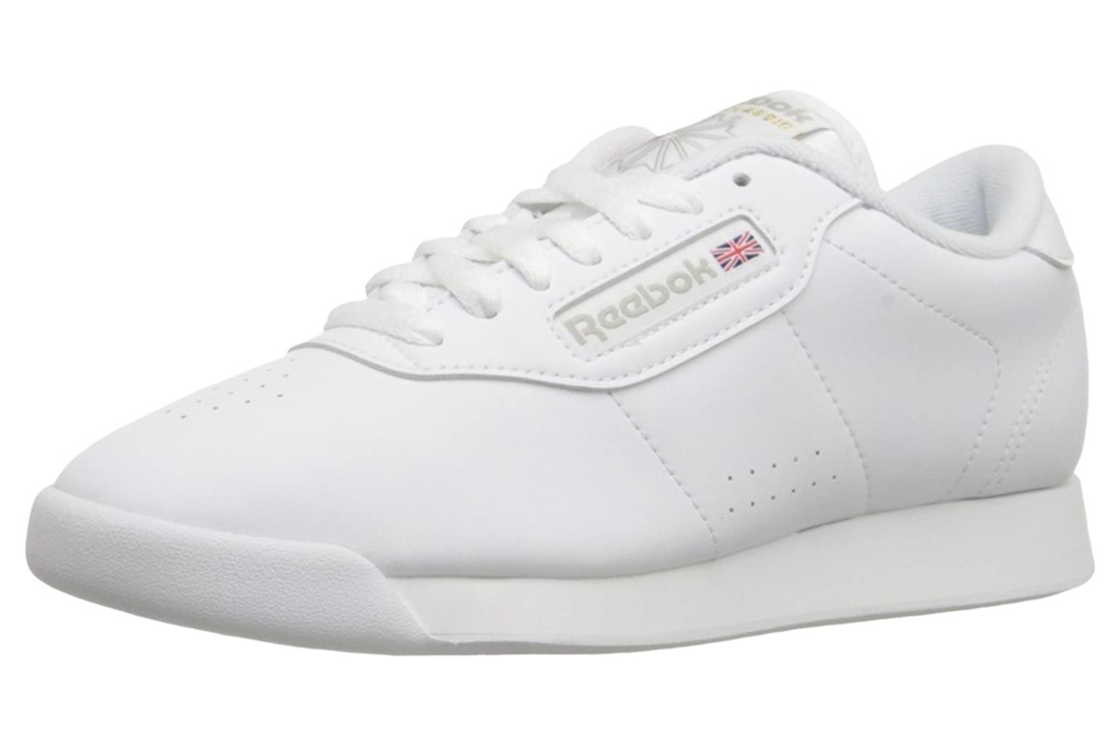 sneakers, reebok, white