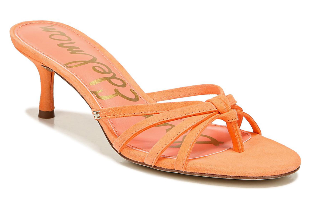 sam edelman orange shoes