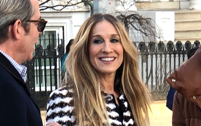 sarah-jessica-parker-black-white-new-york