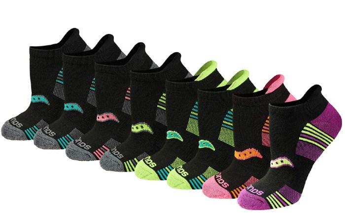 Saucony Performance No-Show Sport Socks
