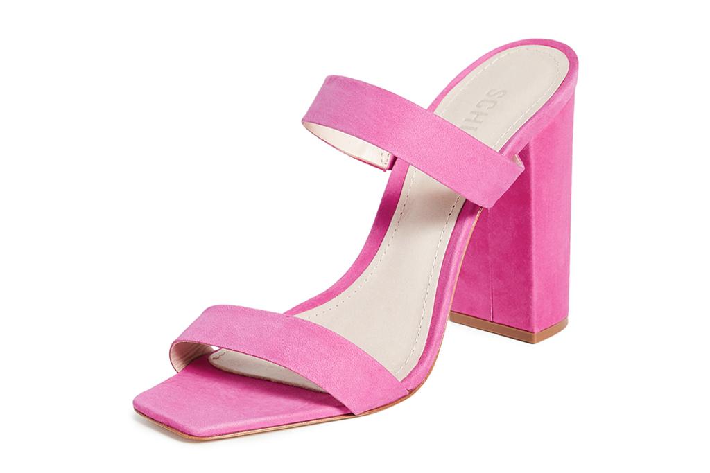 schutz, pink heels