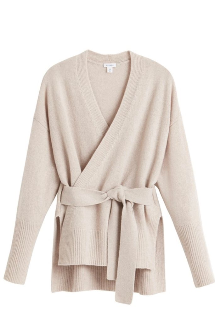 cuyana, sweater, work from home fashion