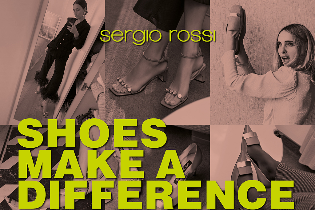Sergio Rossi Shoes Make a Difference Campaign