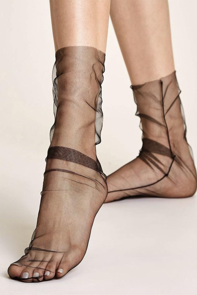 Shein sheer mesh socks, socks and sandal combo, spring 20