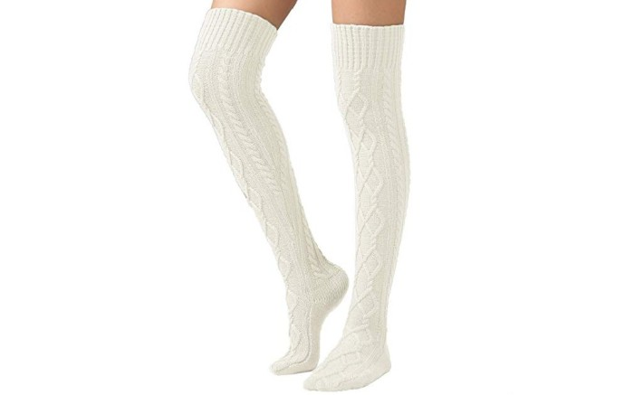 SherryDC Thigh High Boot Socks