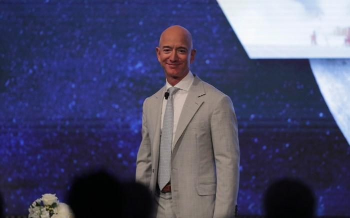 Amazon founder Jeff Bezos during the JFK Space Summit at the John F. Kennedy Presidential Library in BostonJFK Space Summit, Boston, USA - 19 Jun 2019