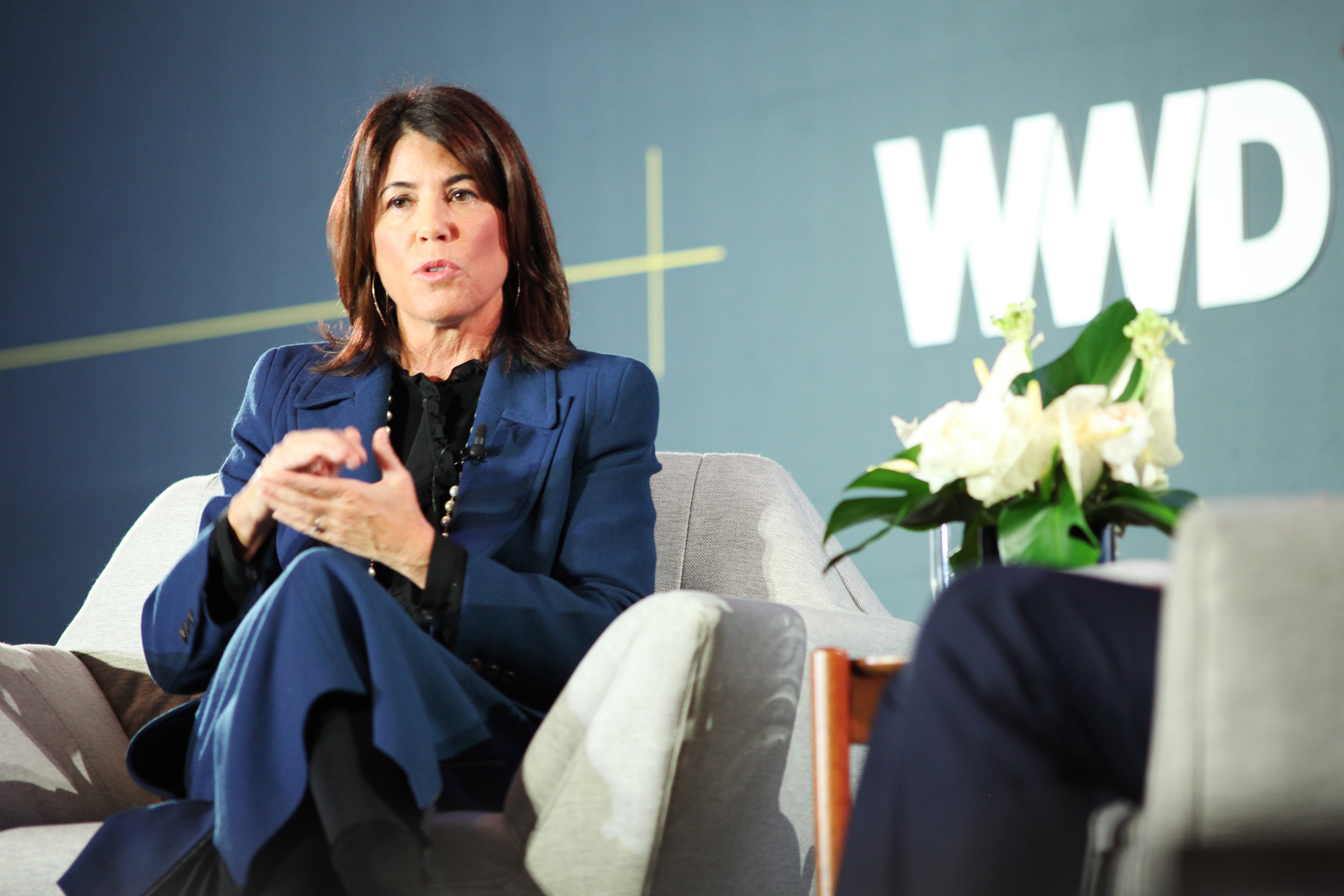 Helena FoulkesWWD Apparel and Retail CEO Summit: Movers and Makers, New York, USA - 29 Oct 2019