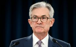 Federal Reserve Chair Jerome Powell pauses