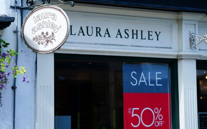A Laura Ashley shop in Kingston-Upon-Thames, South West LondonCoronavirus / Covid-19 in Britain, London, UK - 17 Mar 2020