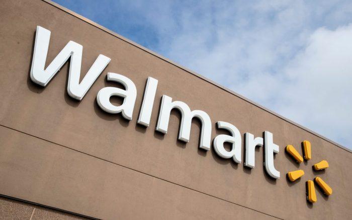 Shown is a Walmart in Warrington, PaWalmart, Warrington, United States - 17 Mar 2020