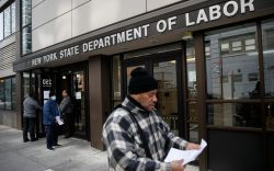Visitors to the Department of Labor