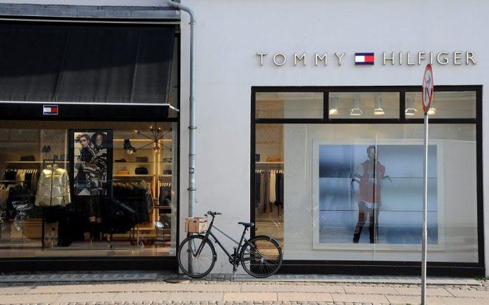 Tommy Hilfiger highstreet storeDaily life, Copenhagen, Denmark - 16 Oct 2018