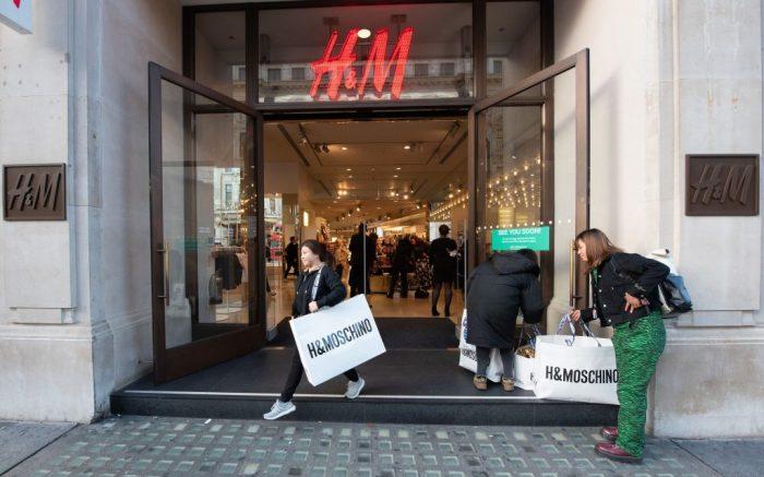 H&M, london, store