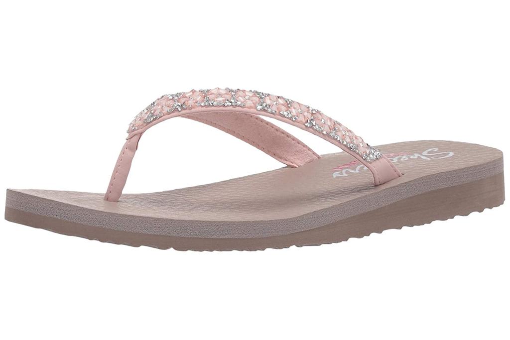 skechers, flip flops
