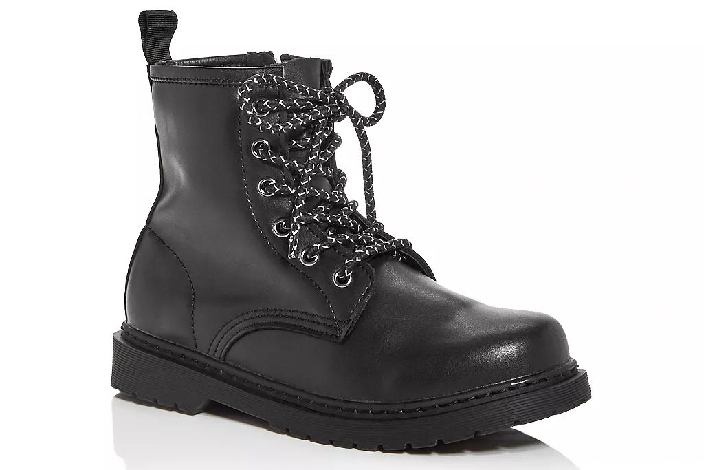steve madden, combat boots, kids