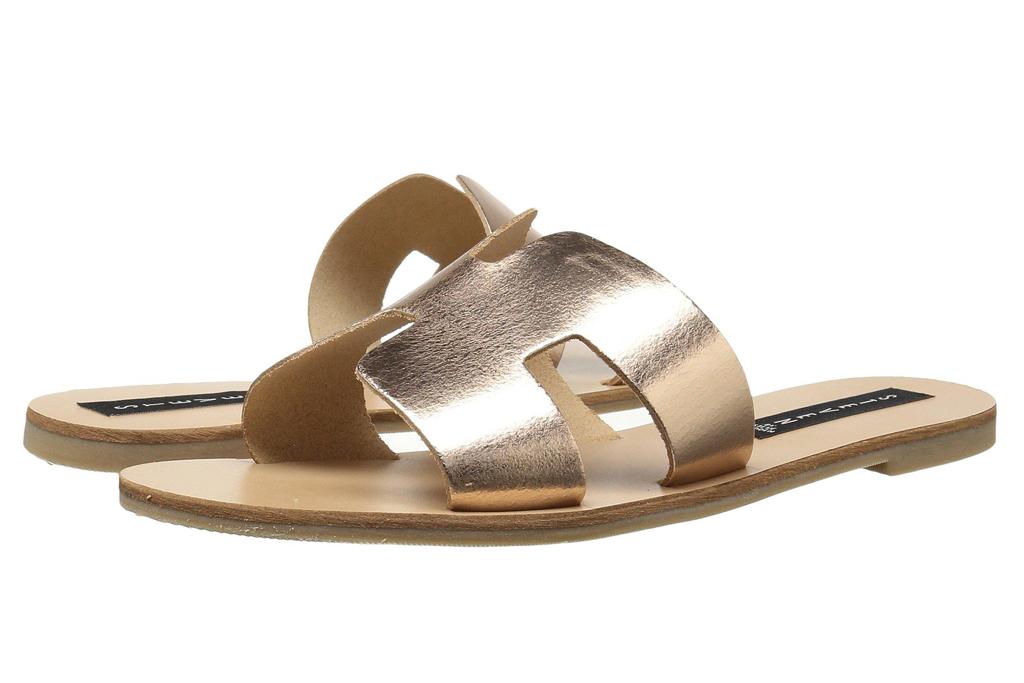 Steven New York Greece sandals, gold, sandals