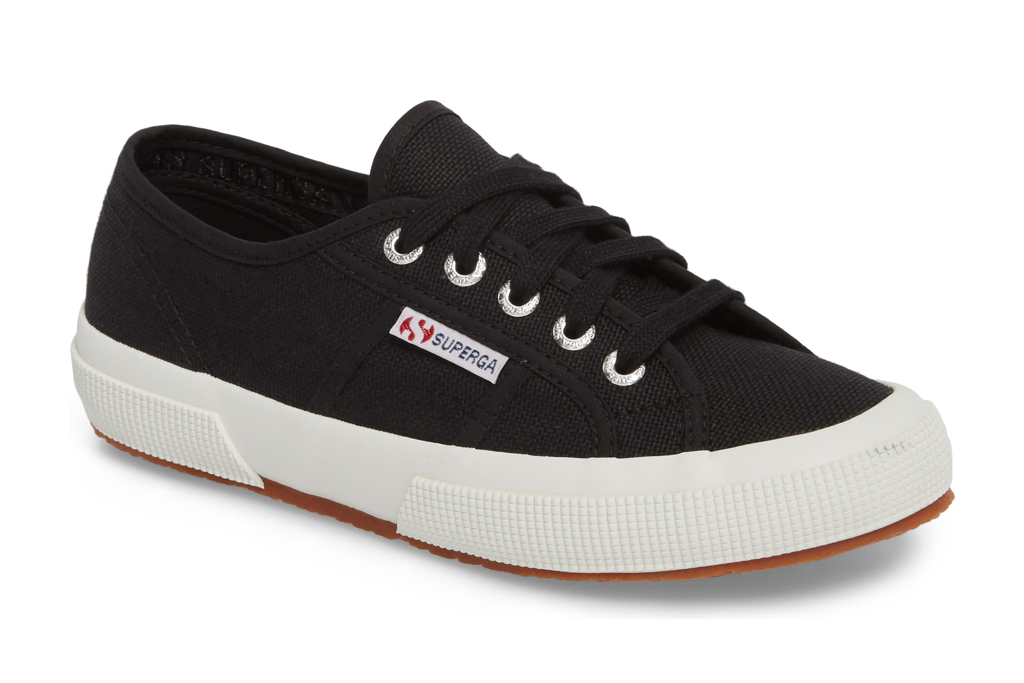 Superga Cotu sneaker, black, white, sneaker, superga
