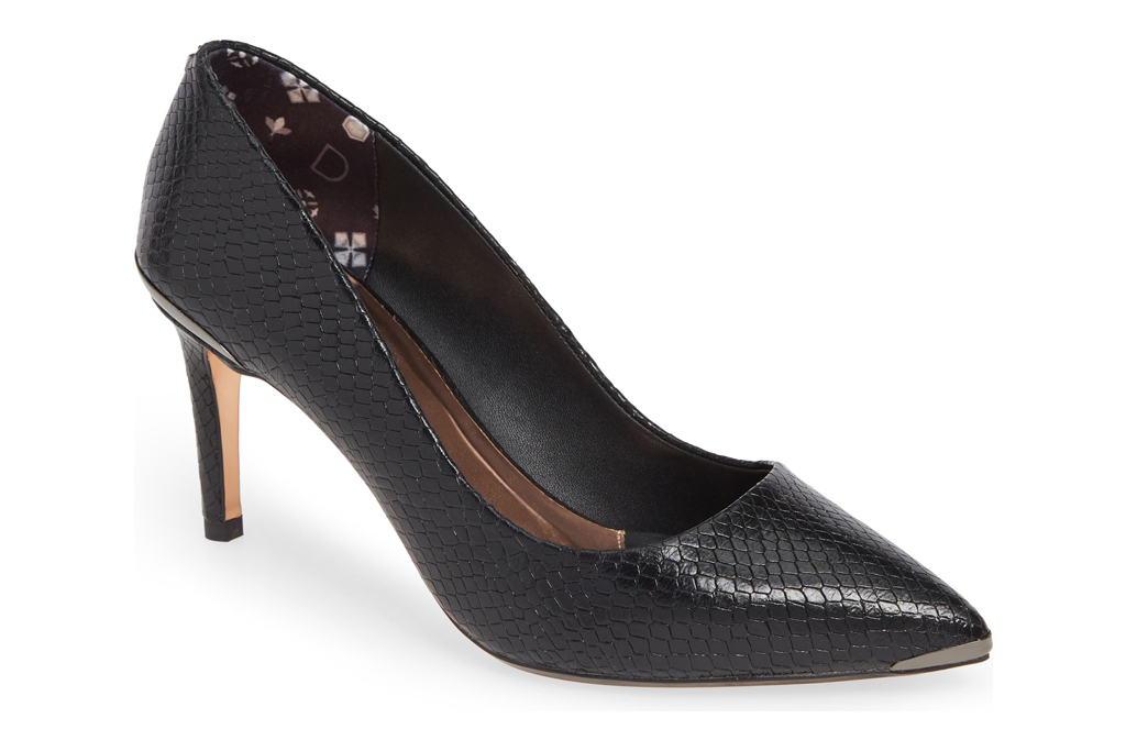 ted baker, pumps, embossed