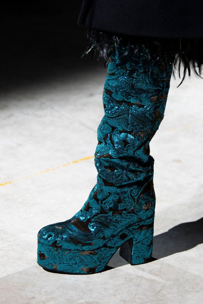 dries van noten, fall 2020, paris fashion week, top 10 shoes