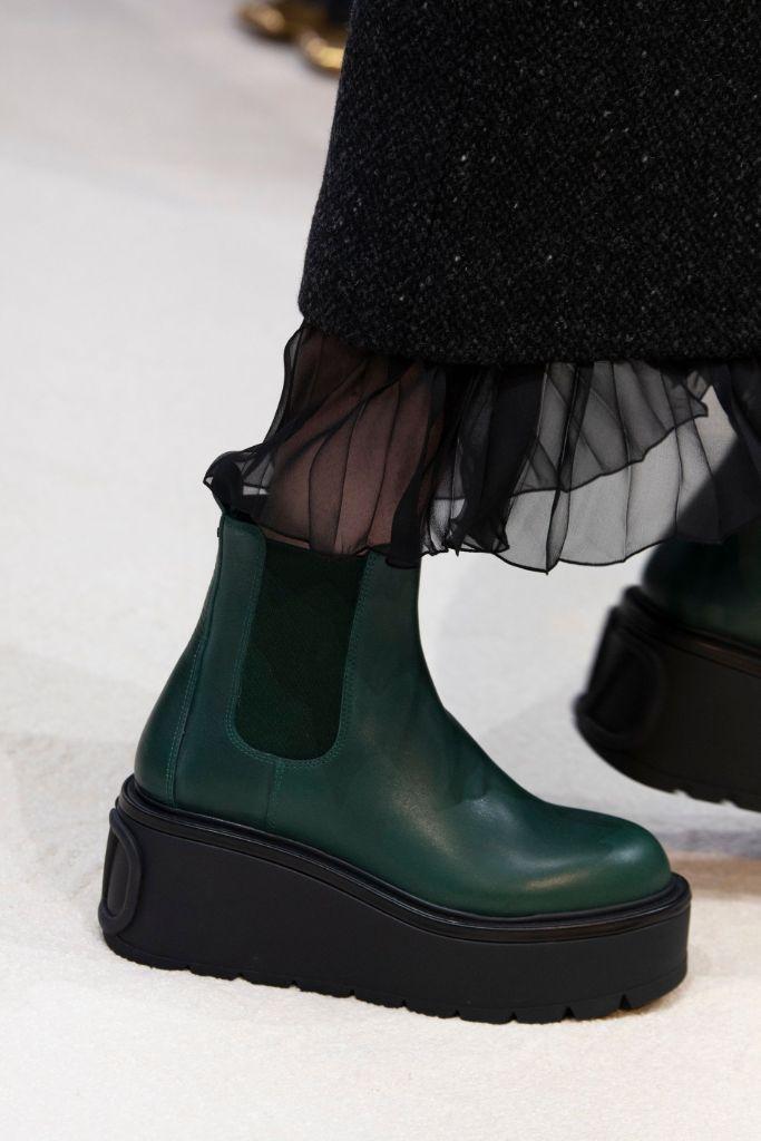 valentino, paris fashion week, fall 2020, top 10 shoes of pfw