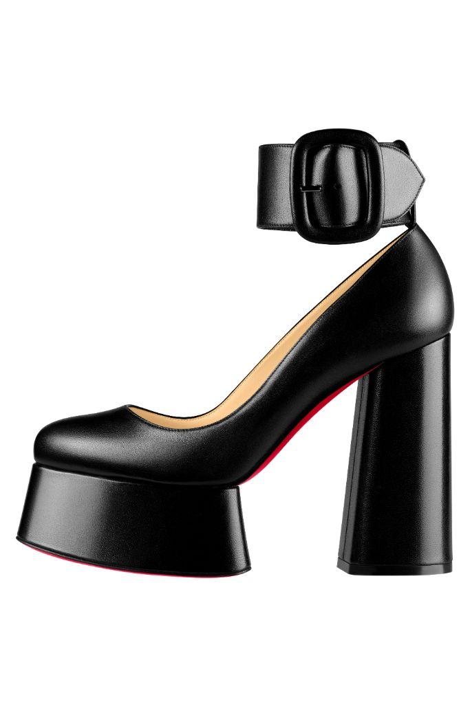christian louboutin, fall 2020, paris fashion week, top 10 shoes, platforms