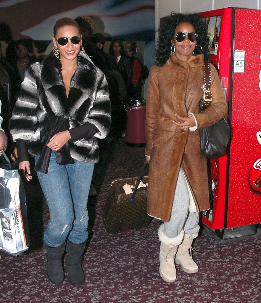beyonce, kelly roland, ugg boots, celebrity style, 2000s style