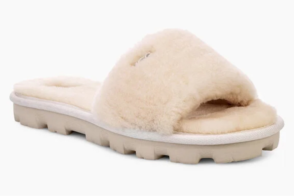 ugg, cozette slippers, brown