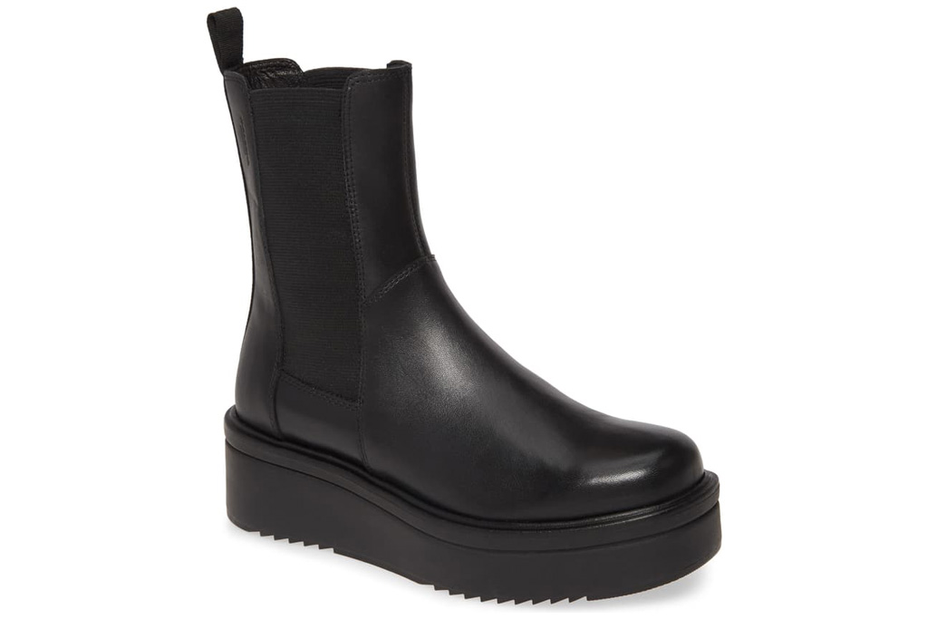 vagabond boots, black boots, chunky