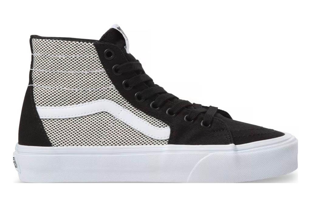 Vans Sk8-Hi 2-Tone Linen, vans, sneakers, high top
