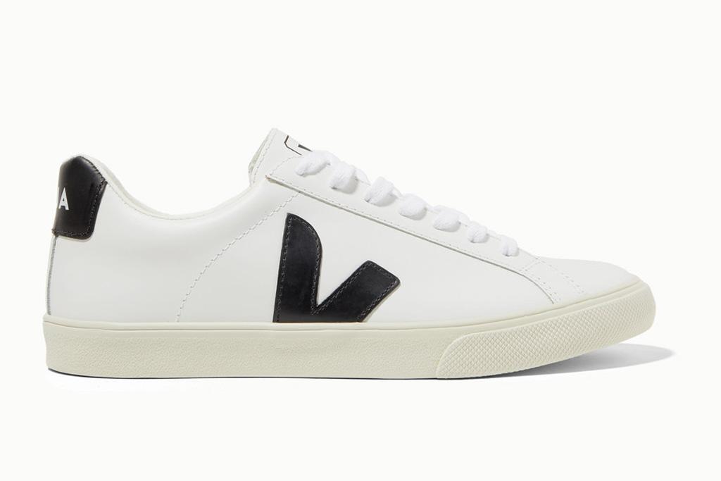 veja sneakers, black, white