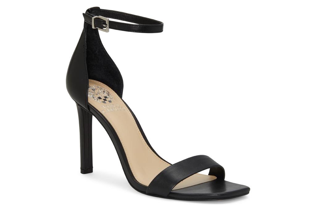 vince camuto sandals, black