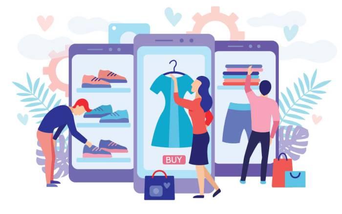 virtual showroom, illustration, digital fashion