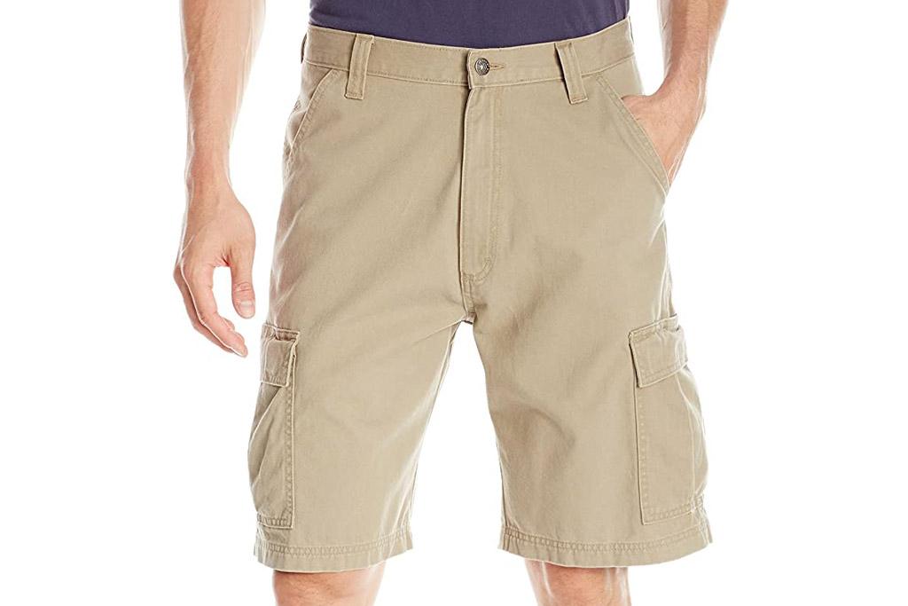 wrangler, cargo shorts