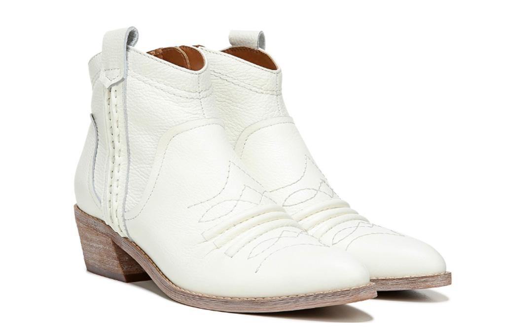 zodiac, white boots, cowboy