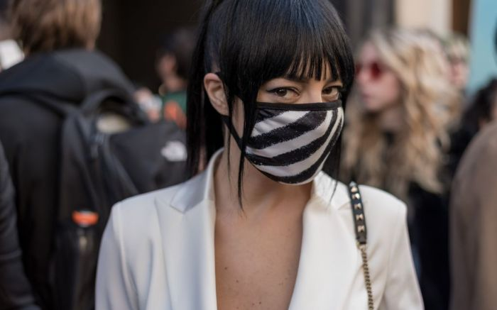 fashion month, pandemic, fashion cycle, fashion is over, face mask