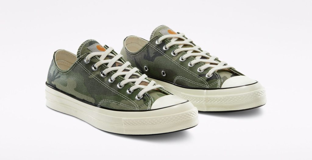 Carhartt WIP x Converse Chuck 70 'Green Camo'