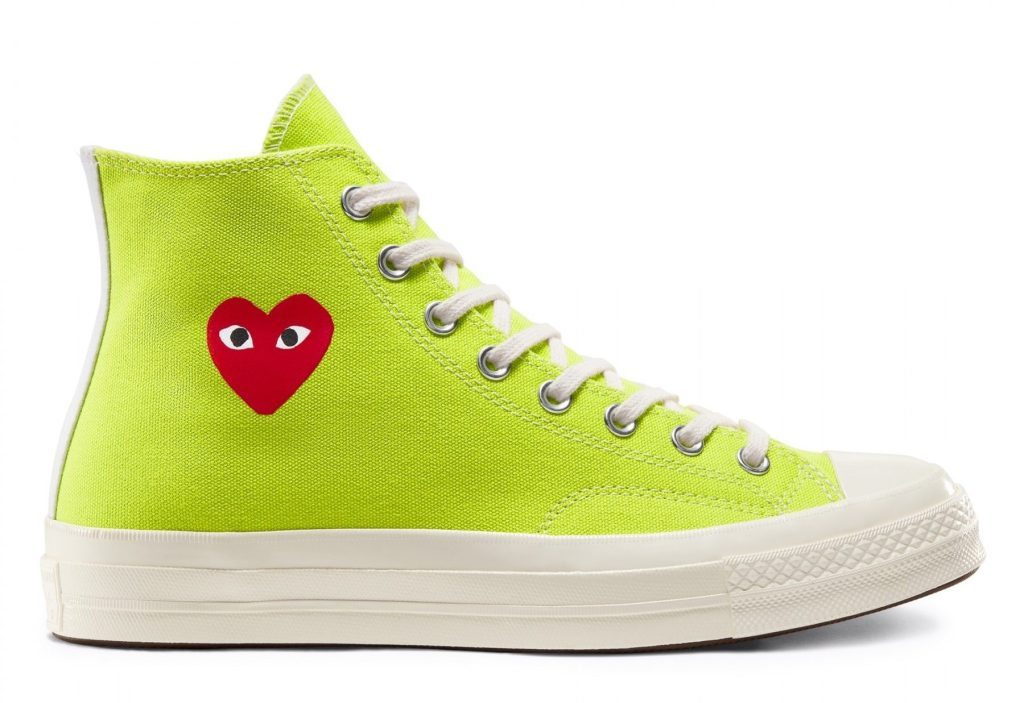 Comme des Garcons x Converse Chuck 70 High 'Bright Green'