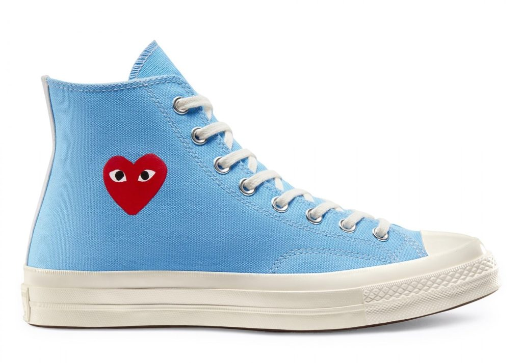 Comme des Garcons x Converse Chuck 70 High 'Bright Blue'