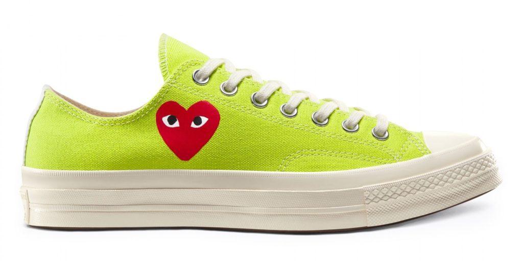 Comme des Garcons x Converse Chuck 70 'Bright Green'