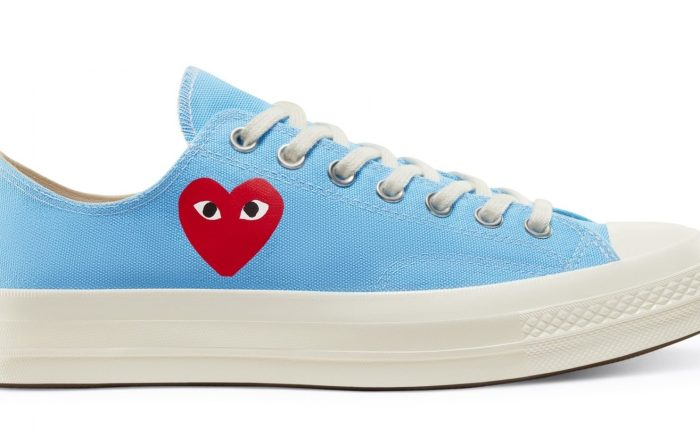 Comme des Garcons x Converse Chuck 70 Low 'Bright Blue'