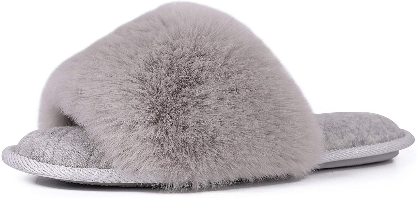 LongBay Fuzzy Spa Slipper