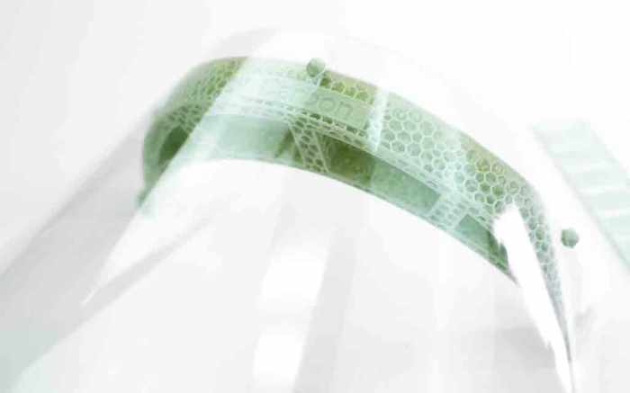 Adidas Carbon 3D Printed Face Shield Coronavirus