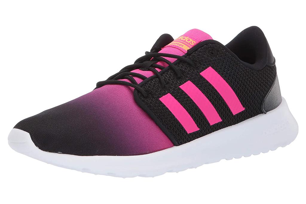 adidas, sneakers, pink, black