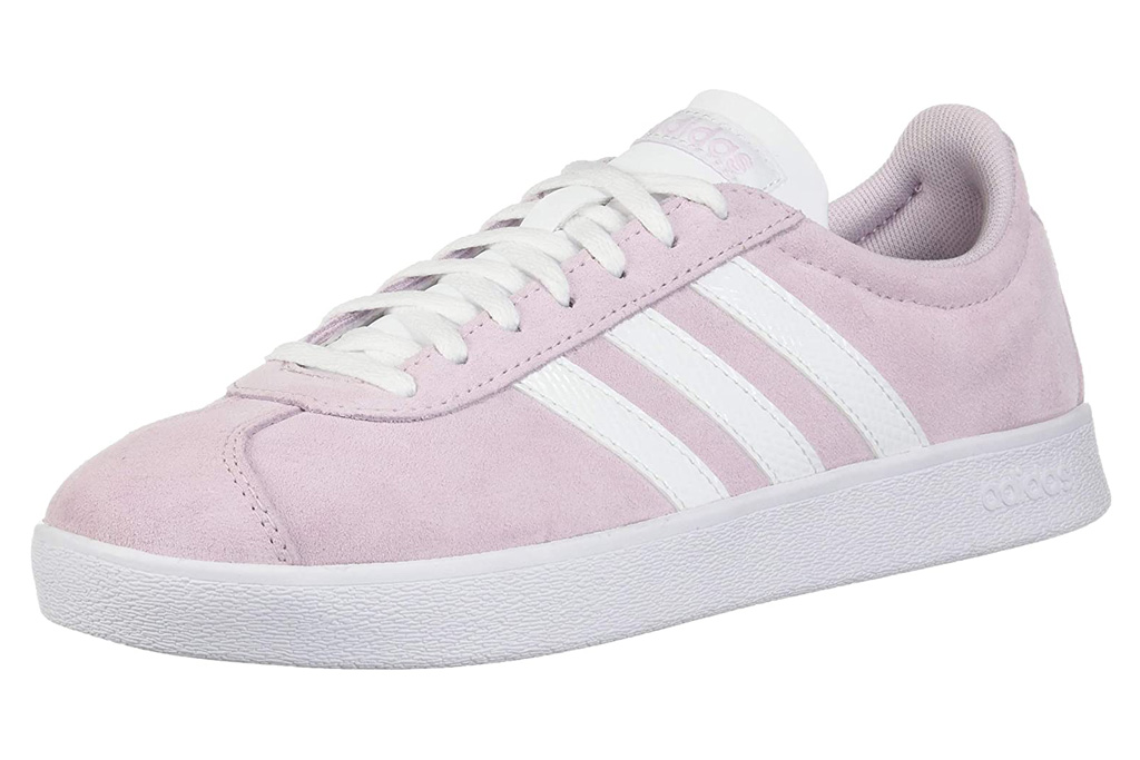 adidas sneakers, pale pink